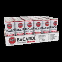 Bacardi & Cola (Blik Tray) 24X25CL