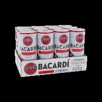 Bacardi Razz & Up (Blik Tray) 12X25CL